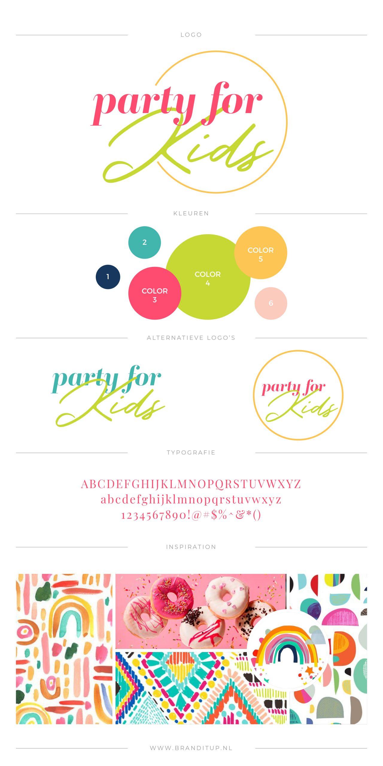 Pakket Jules aangepast met jouw kleurenpalet en moodboard